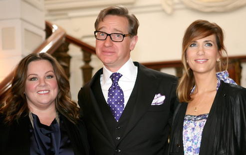 Melissa McCarthy, Paul Feig and Kristen Wiig