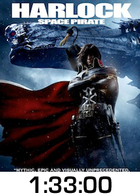 Harlock Space Pirate DVD Review