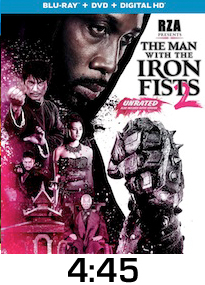 Man with the Iron Fists 2 Bluray Review