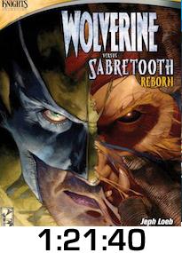 Wolverine v Sabretooth Reborn DVD Review