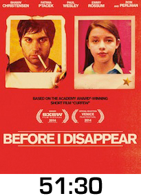 Before I Disappear DVD Review