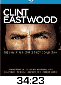 Clint Eastwood Collection Bluray Review