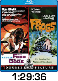 Food of the Gods Frogs Bluray Review