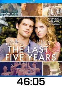 Last Five Years Bluray Review