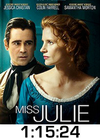 Miss Julie DVD Review