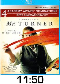 Mr Turner Bluray Review