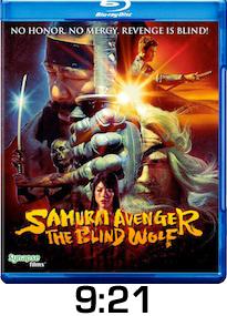 Samurai Avenger Blind Wolf Bluray Review