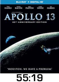 Apollo 13 Bluray Review