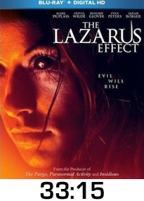 Lazarus Effect Bluray Review
