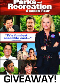 Parks and Rec Season Four Giveaway Image