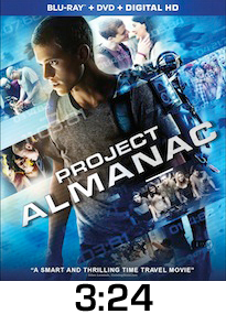 Project Almanac Bluray Review