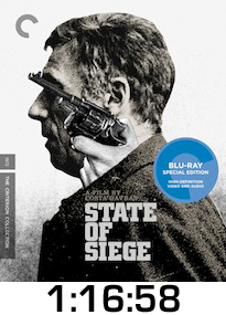 State of Siege Bluray Review