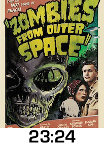 Zombies From Outer Space DVD