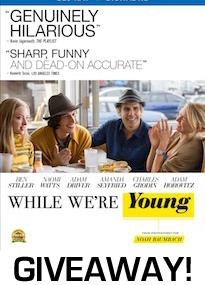 While Were Young Bluray Giveaway Image