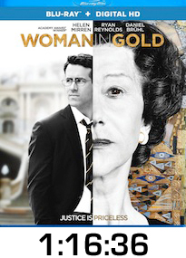 Woman in Gold Bluray Review