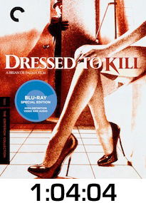 Dressed To Kill Bluray Review