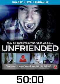 Unfriended Bluray Review