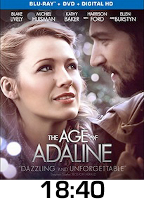 Age of Adaline Bluray Review