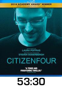 Citizen Four Bluray Review