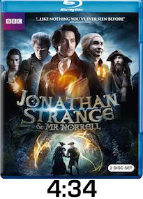 Jonathan Strange Bluray Review