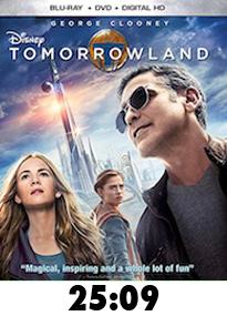 Tomorrowland Bluray Review