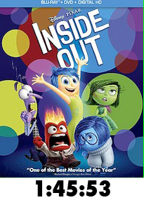 Inside Out Bluray Review