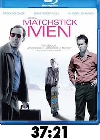 Matchstick Men Bluray Review