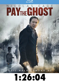 Pay The Ghost Bluray Review