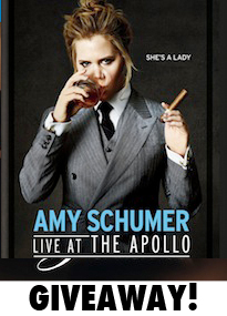 Amy Schumer Apollo Giveaway Image