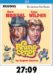 Rhinoceros Blu-Ray Review