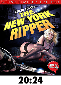 The New York Ripper 4k Blu-Ray Review