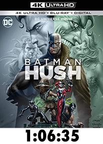 Batman: Hush 4k Review