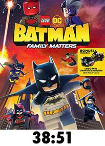 Lego Batman Family Matters Blu-Ray Review