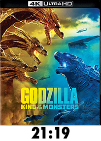 Godzilla: King of the Monsters 4k Review