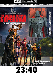 The Death and Return of Superman 4k Review