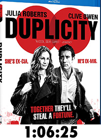 Duplicity Blu-Ray Review