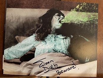 Exorcist signed 1