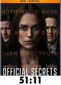 Official Secrets DVD Review