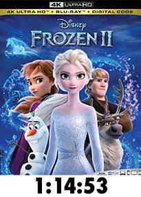 Frozen 2 4k Review