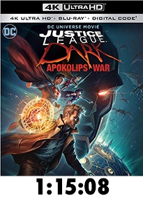 Justice League Dark: Apocalypse War 4k Review