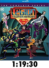 Legion of Superheroes Complete Series Blu-Ray Review