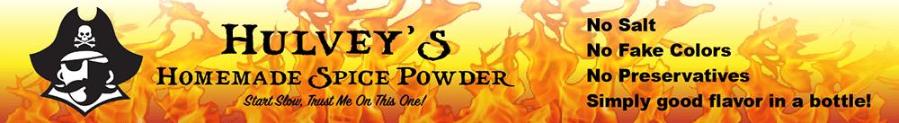 Hulvey's Spice Powder Ad