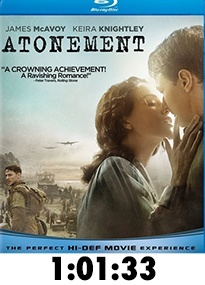 Atonement Blu-Ray Review