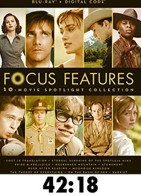 Focus Features 10 Movie Spotlight Collection Blu-Ray Review