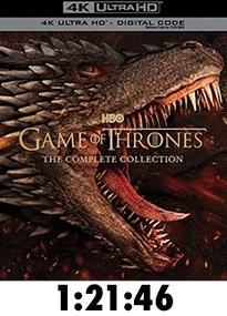 Game of Thrones Complete Series 4k Review