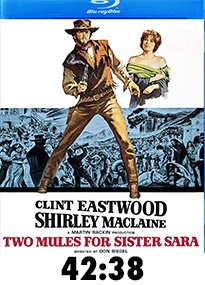 Two Mules For Sister Sara Blu-Ray Review