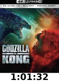 Godzilla vs Kong 4k Review