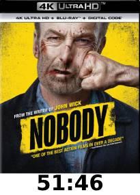 Nobody 4k Review