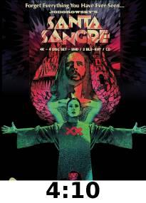 Santa Sangre 4k Review