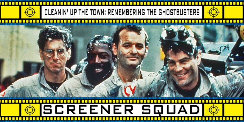 Cleanin' Up The Town: Remembering Ghostbusters Movie Review